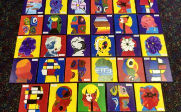 4th grade art auction